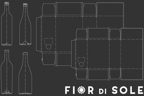 Fior di Sole Winery Packaging Options